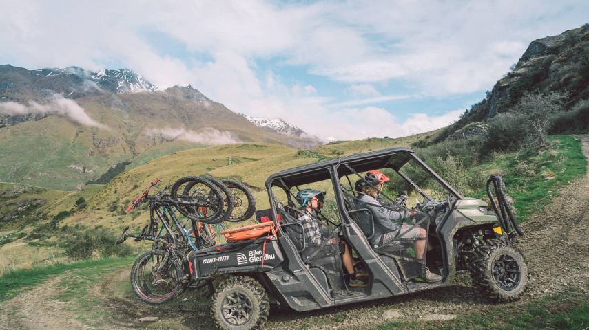 Take the Short Cut to the Summit With Our Can-Am Shuttles