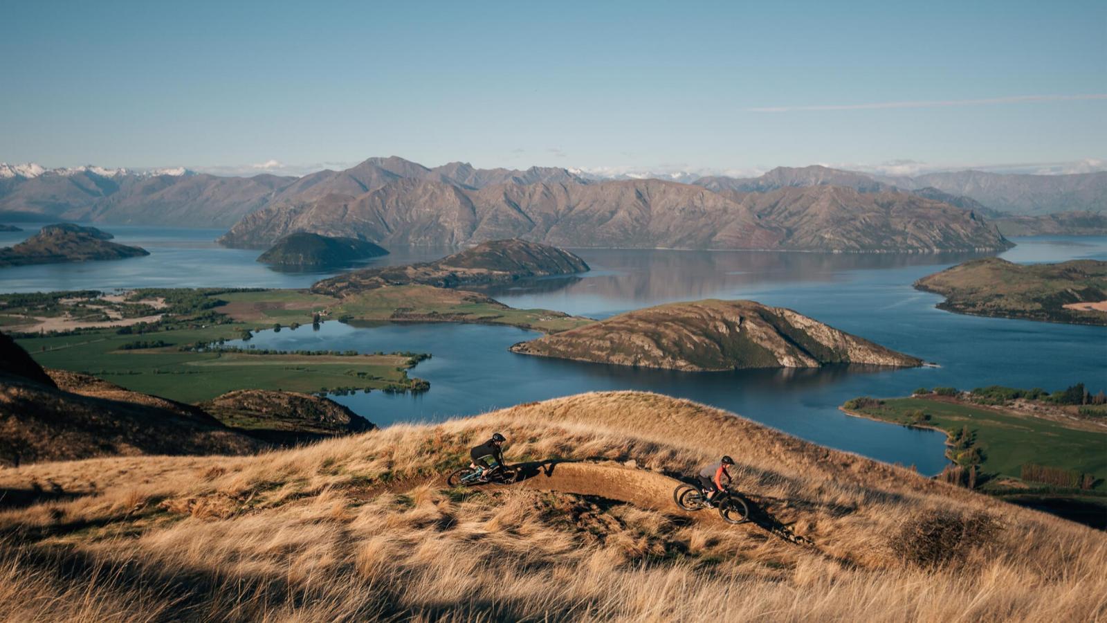 Lake Wanaka view from Bike Glendhu mtb tracks